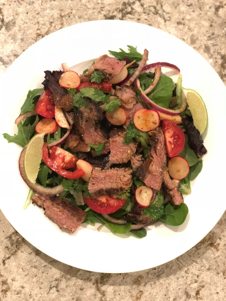Thai steak salad